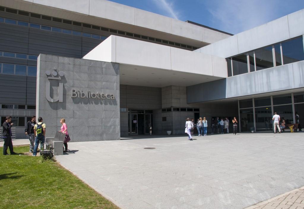 Biblioteca campus de Móstoles